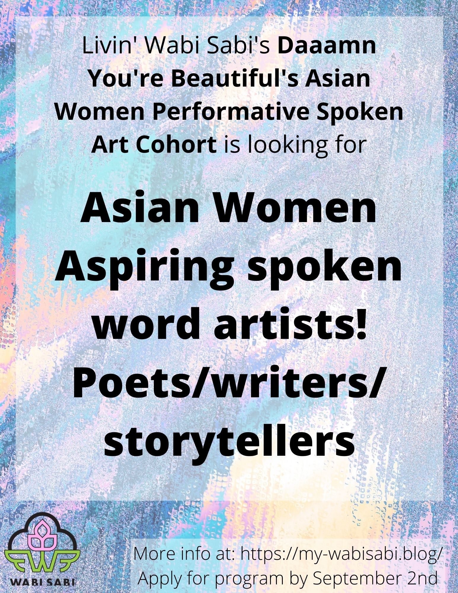 Looking for aspiring spoken word artists! Poets_writers_storytellers (2)